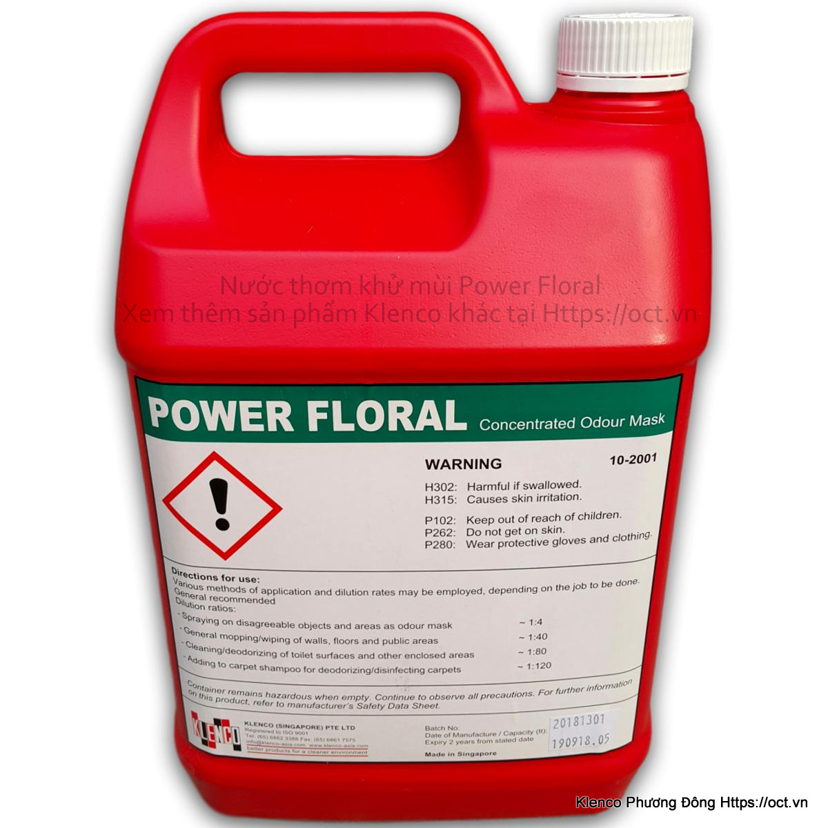 PowerFloral-Klenco-5L