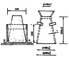Dụng cụ xác định độ cứng của hỗn hợp bê tông