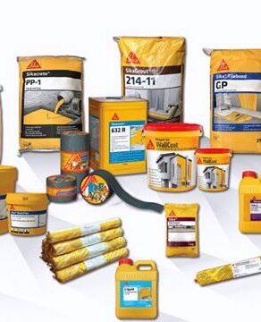 9 danh mục sản phẩm vật liệu Sika trong xây dựng 1