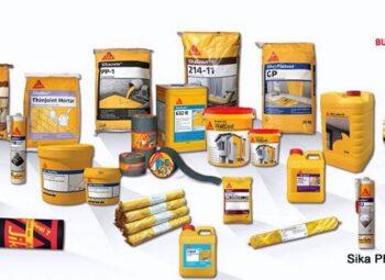 9 danh mục sản phẩm vật liệu Sika trong xây dựng 2